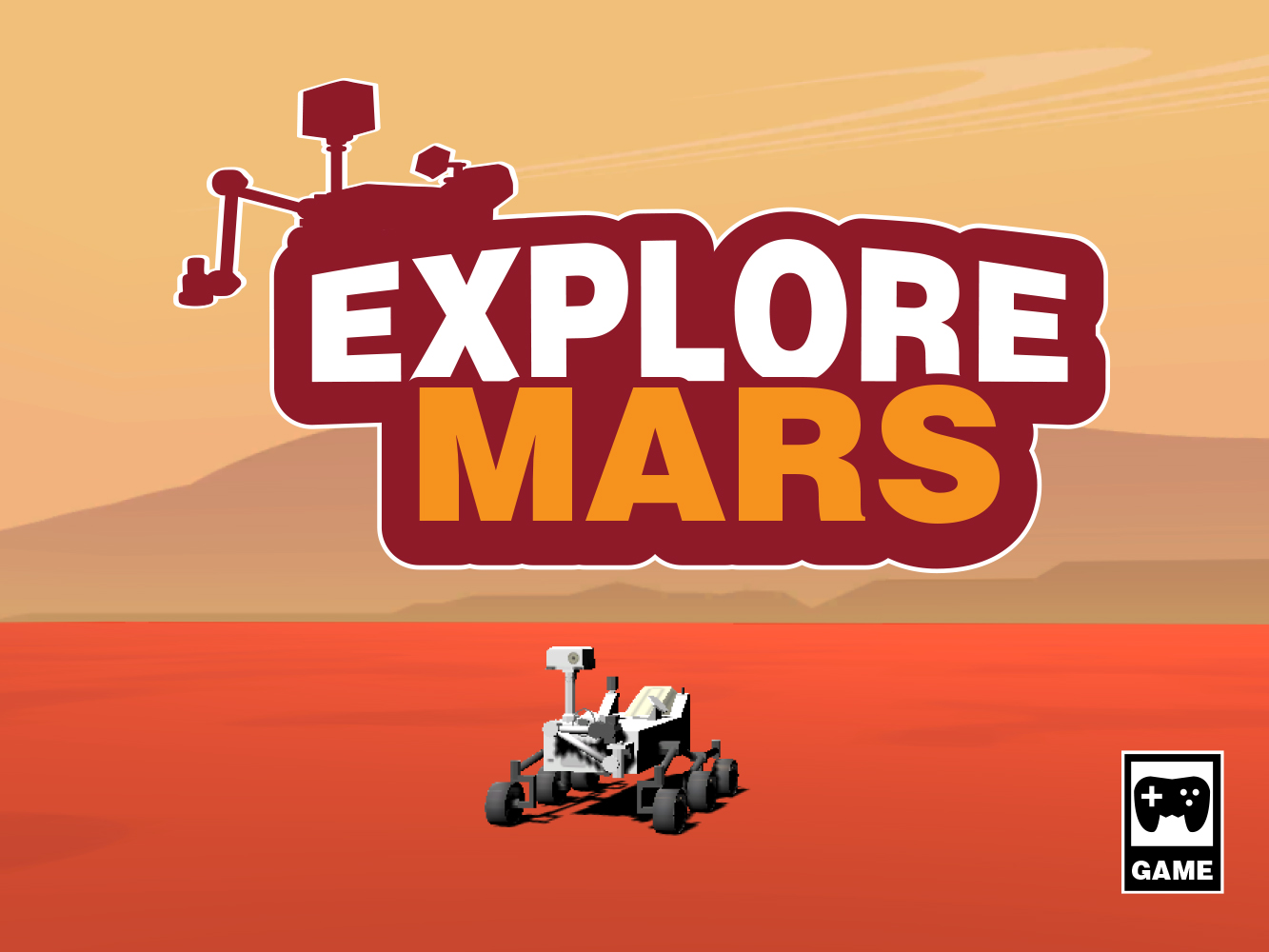 Mars Rover Driving Game