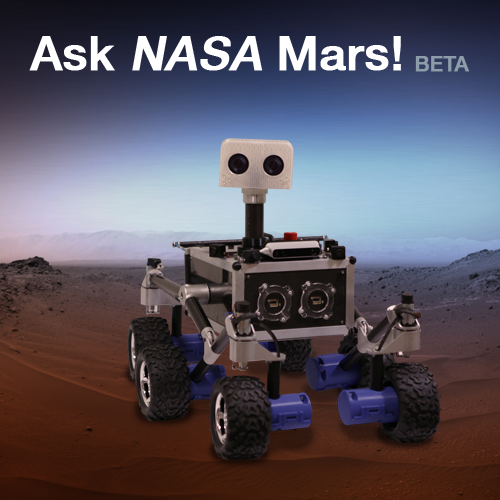 Have a question about Mars? Try asking NASA Mars.