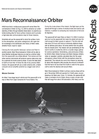 MRO Fact Sheet