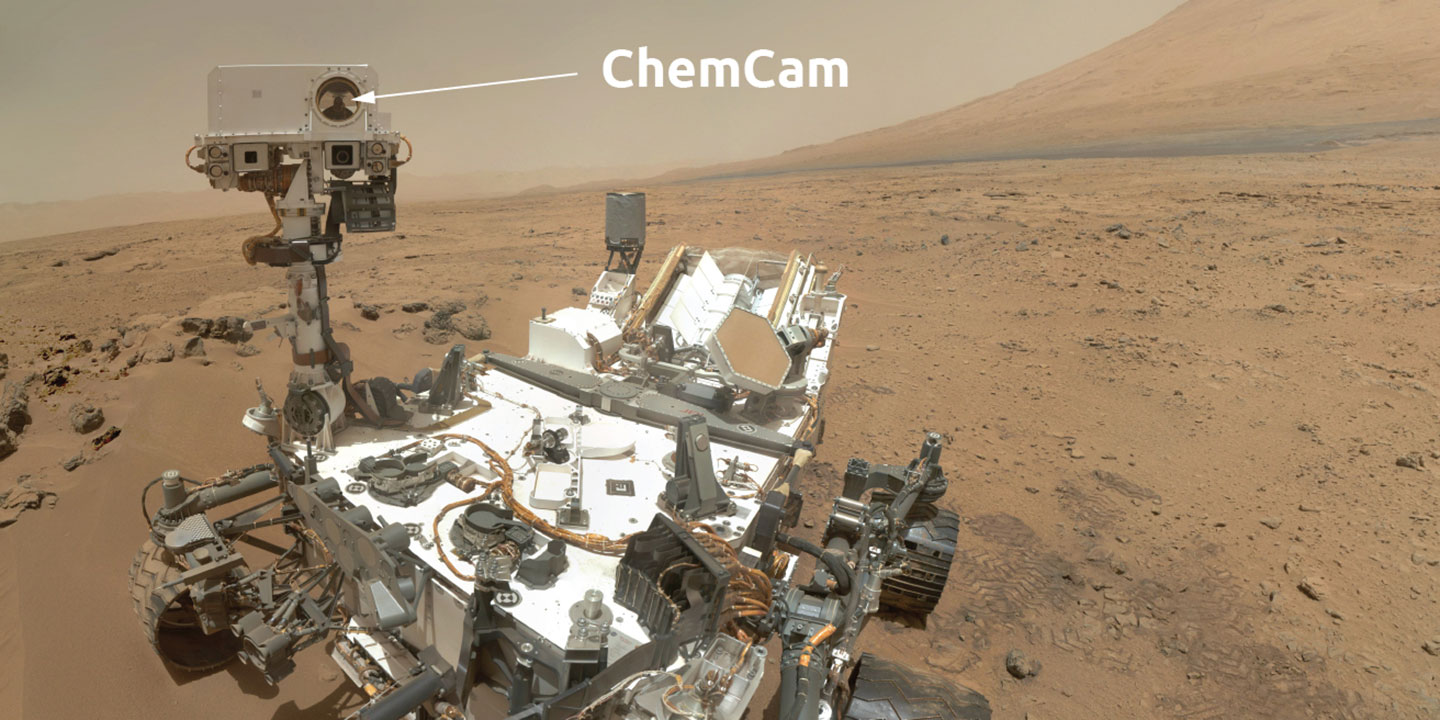 Image of ChemCam instrument