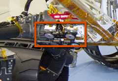 Rear Hazard Avoidance Cameras (Rear Hazcams)