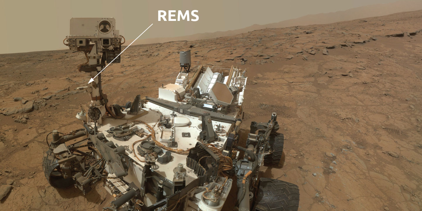 Image of REMS instrument