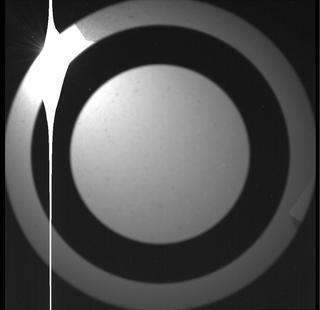 View image taken on Mars, Mars Perseverance Sol 1: SkyCam Camera