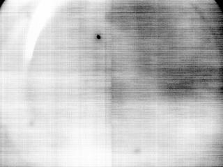 View image taken on Mars, Mars Perseverance Sol 1: Left Navigation Camera (Navcam)