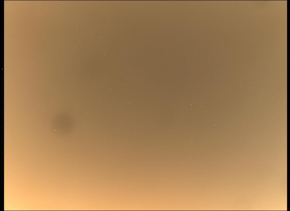 This image was taken by MCZ_LEFT onboard NASA's Mars rover Perseverance on Sol 1