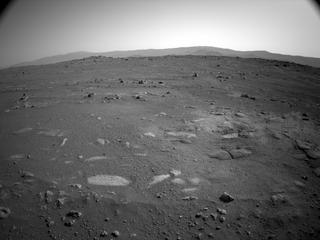 View image taken on Mars, Mars Perseverance Sol 2: Left Navigation Camera (Navcam)