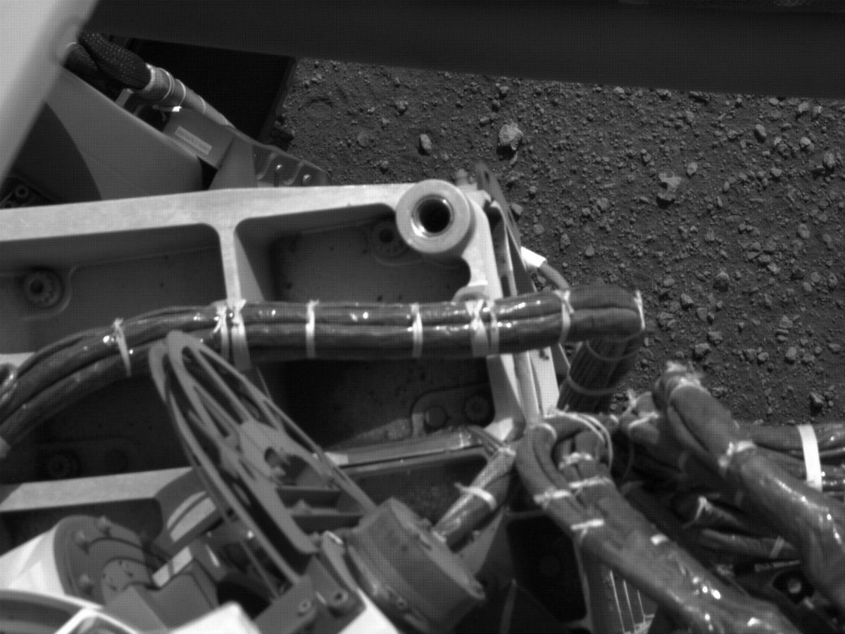 This image was taken by NAVCAM_RIGHT onboard NASA's Mars rover Perseverance on Sol 2