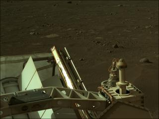View image taken on Mars, Mars Perseverance Sol 2: Right Navigation Camera (Navcam)