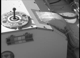 View image taken on Mars, Mars Perseverance Sol 2: Left Mastcam-Z Camera