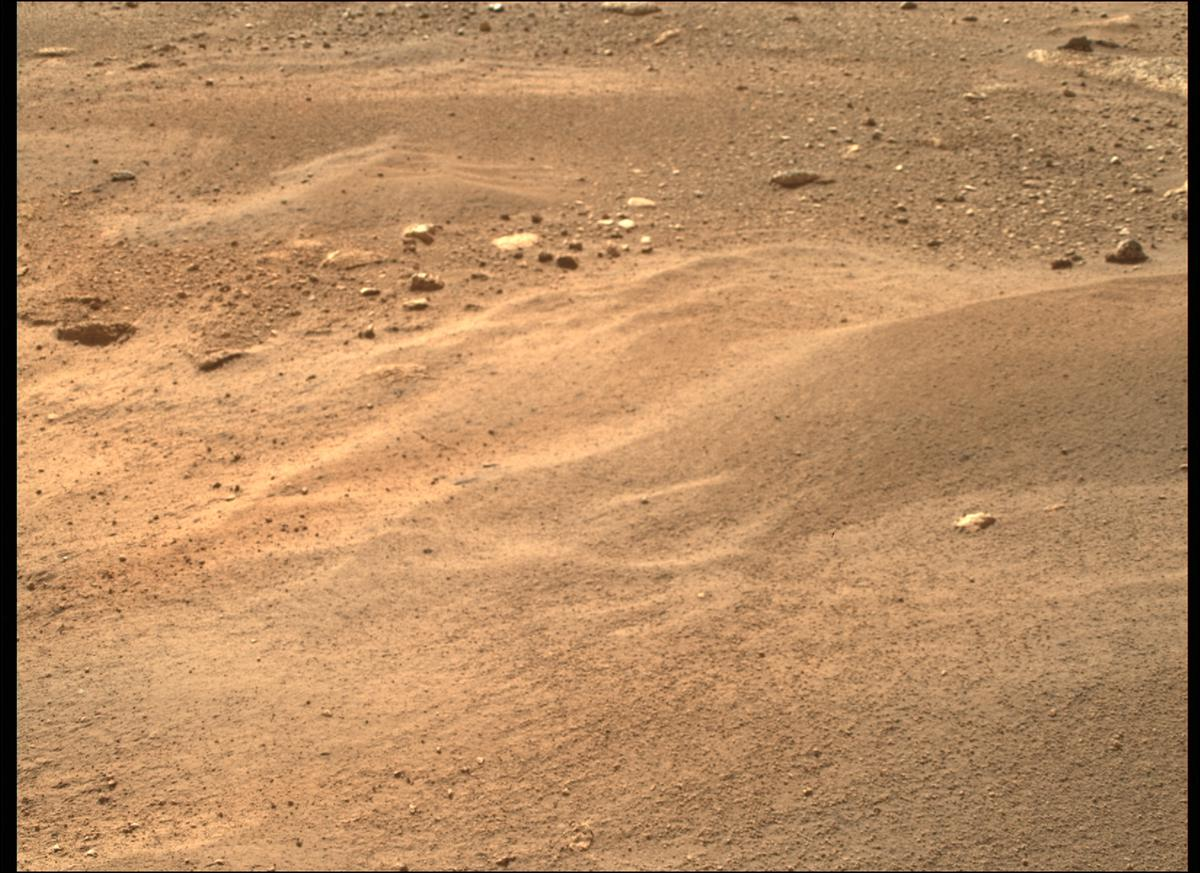 This image was taken by MCZ_RIGHT onboard NASA's Mars rover Perseverance on Sol 2