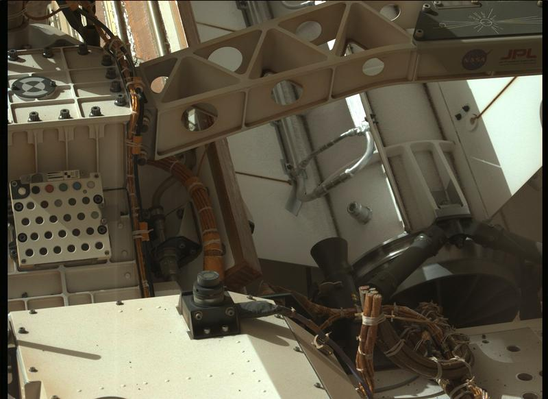 Mars Perseverance Sol 3: Left Mastcam-Z Camera