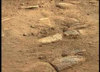 View image taken on Mars, Mars Perseverance Sol 3: Left Mastcam-Z Camera