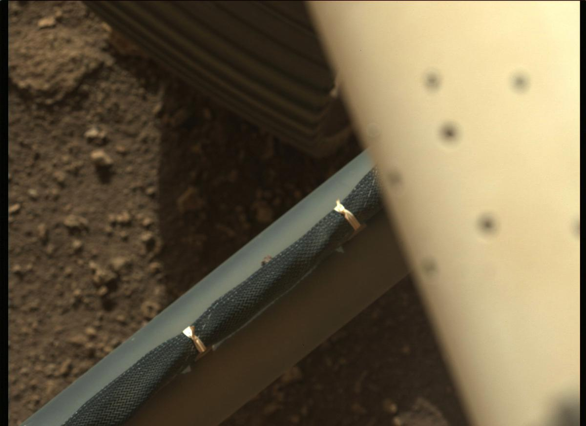 This image was taken by MCZ_LEFT onboard NASA's Mars rover Perseverance on Sol 3