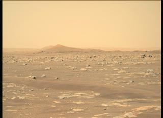 View image taken on Mars, Mars Perseverance Sol 3: Right Mastcam-Z Camera