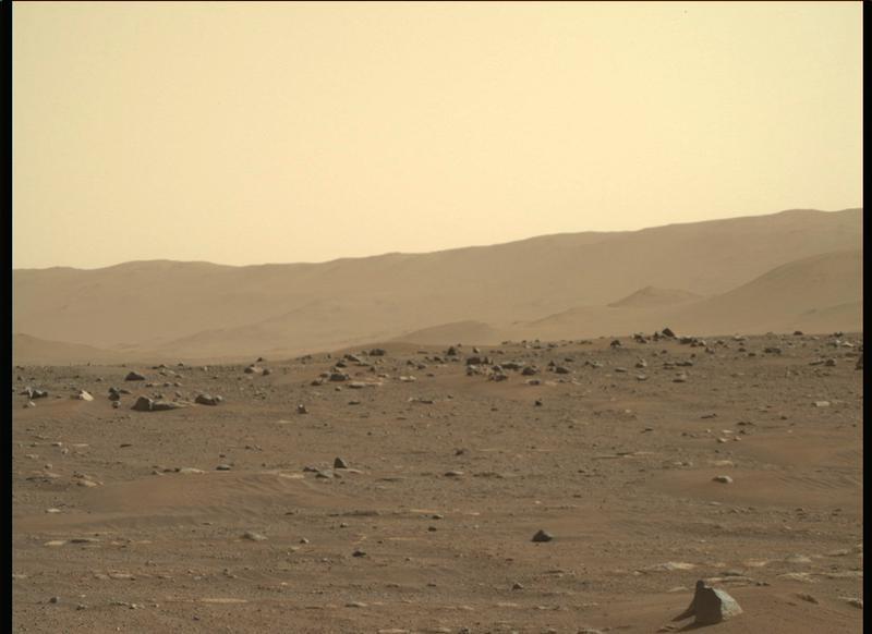 Mars Perseverance Sol 3: Right Mastcam-Z Camera