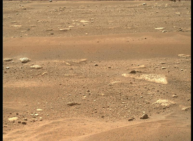 Mars Perseverance Sol 3: Right Mastcam-Z Camera