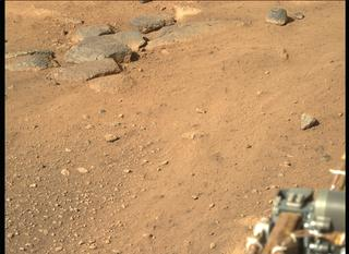 View image taken on Mars, Mars Perseverance Sol 3: Right Mastcam-Z Camera
