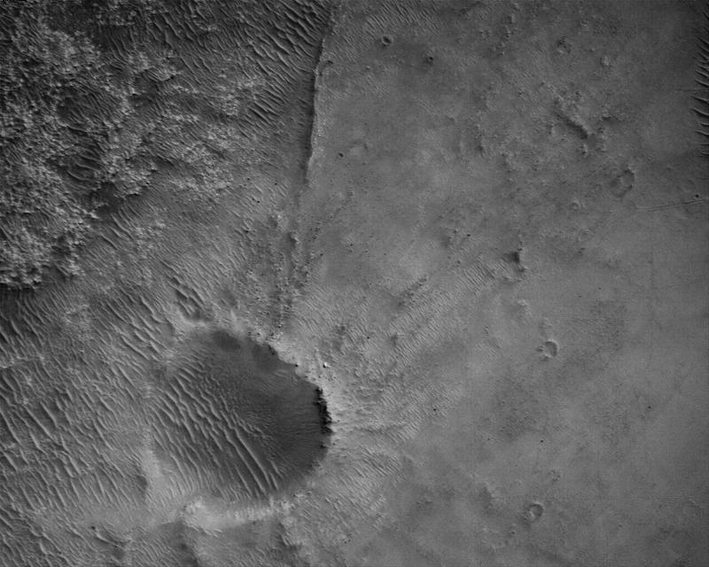 Mars Perseverance Sol 4: Rover Down-Look Camera