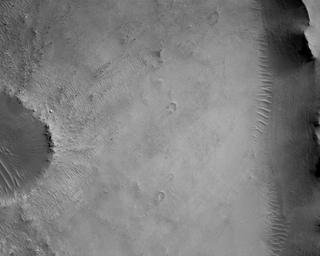 View image taken on Mars, Mars Perseverance Sol 4: Rover Down-Look Camera