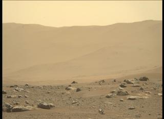 View image taken on Mars, Mars Perseverance Sol 4: Left Mastcam-Z Camera