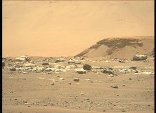 View image taken on Mars, Mars Perseverance Sol 4: Left Mastcam-Z Camera