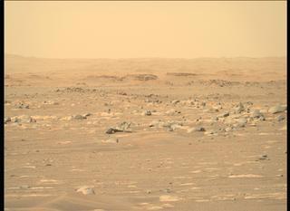 View image taken on Mars, Mars Perseverance Sol 4: Right Mastcam-Z Camera
