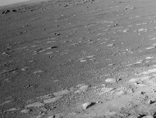 View image taken on Mars, Mars Perseverance Sol 9: Left Navigation Camera (Navcam)