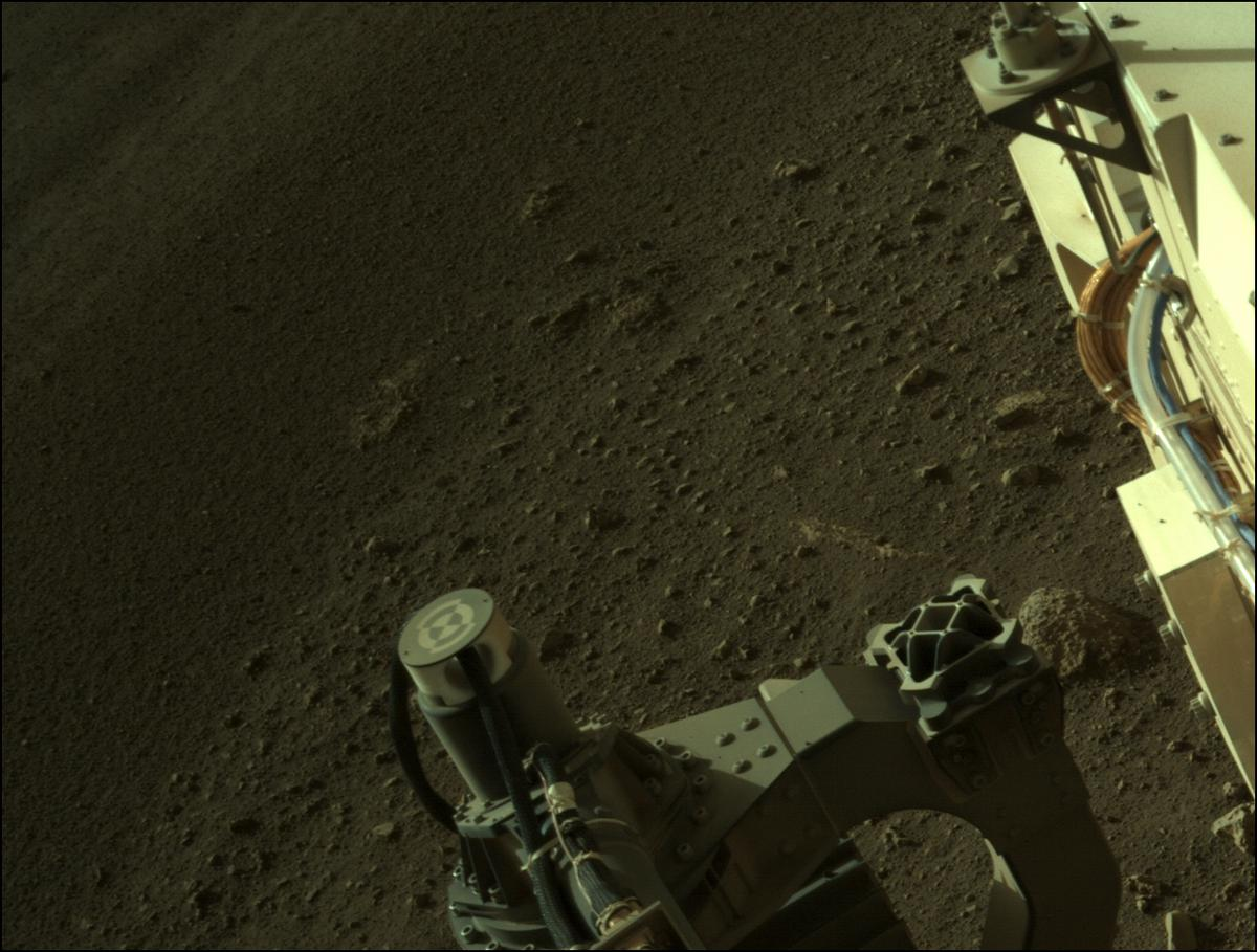 This image was taken by NAVCAM_LEFT onboard NASA's Mars rover Perseverance on Sol 9