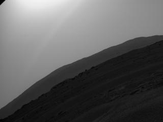 View image taken on Mars, Mars Perseverance Sol 9: Rear Right Hazard Avoidance Camera (Hazcam)