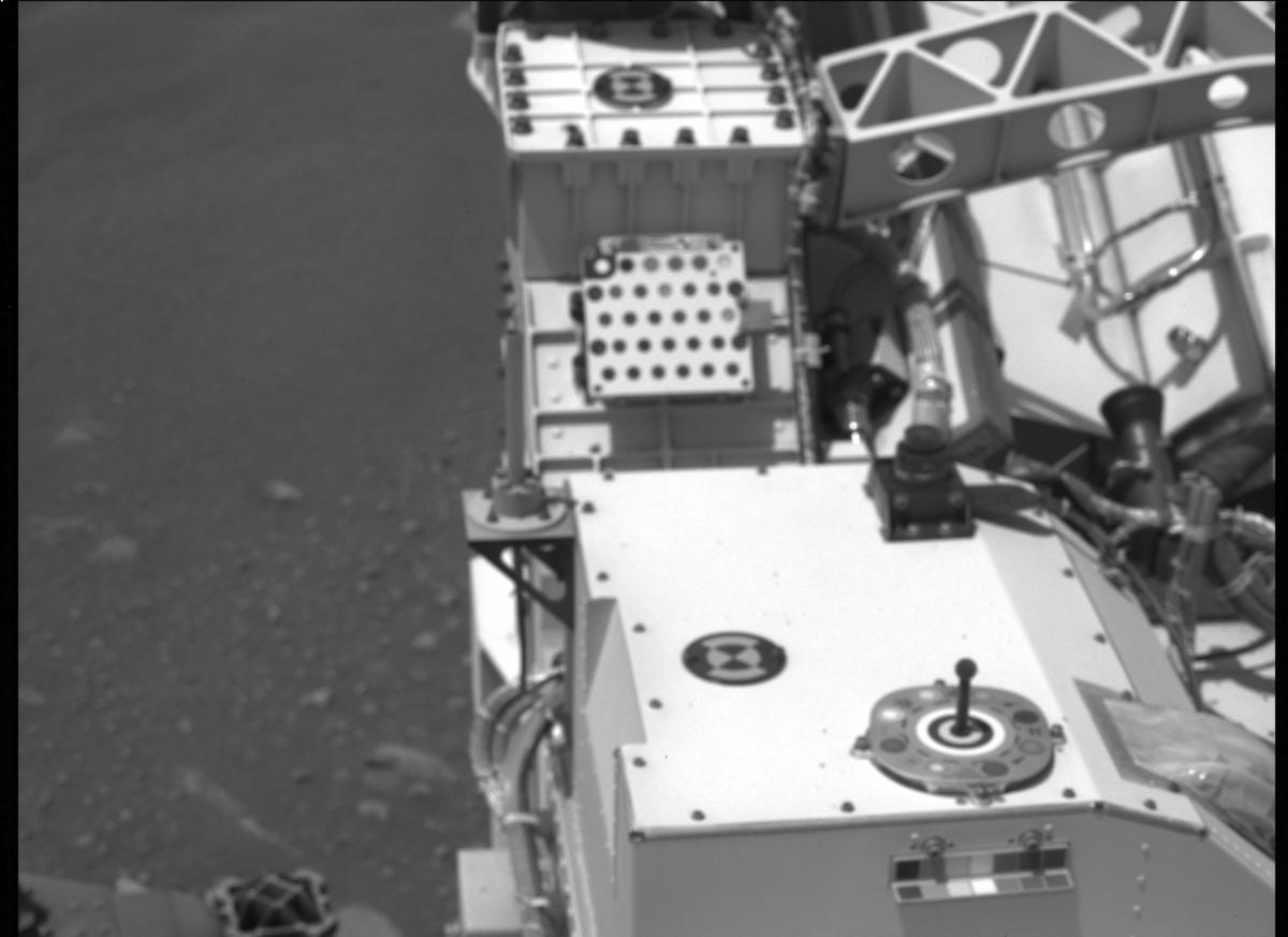 This image was taken by MCZ_LEFT onboard NASA's Mars rover Perseverance on Sol 9