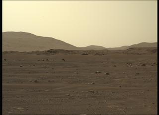 View image taken on Mars, Mars Perseverance Sol 11: Left Mastcam-Z Camera