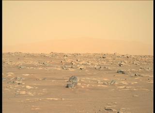 View image taken on Mars, Mars Perseverance Sol 11: Right Mastcam-Z Camera