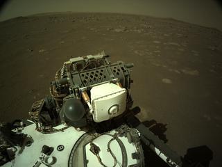 View image taken on Mars, Mars Perseverance Sol 16: Left Navigation Camera (Navcam)