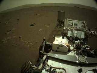 View image taken on Mars, Mars Perseverance Sol 16: Right Navigation Camera (Navcam)