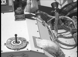View image taken on Mars, Mars Perseverance Sol 16: Right Mastcam-Z Camera