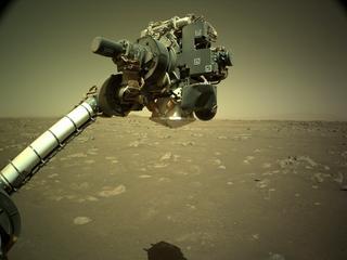 View image taken on Mars, Mars Perseverance Sol 18: Left Navigation Camera (Navcam)