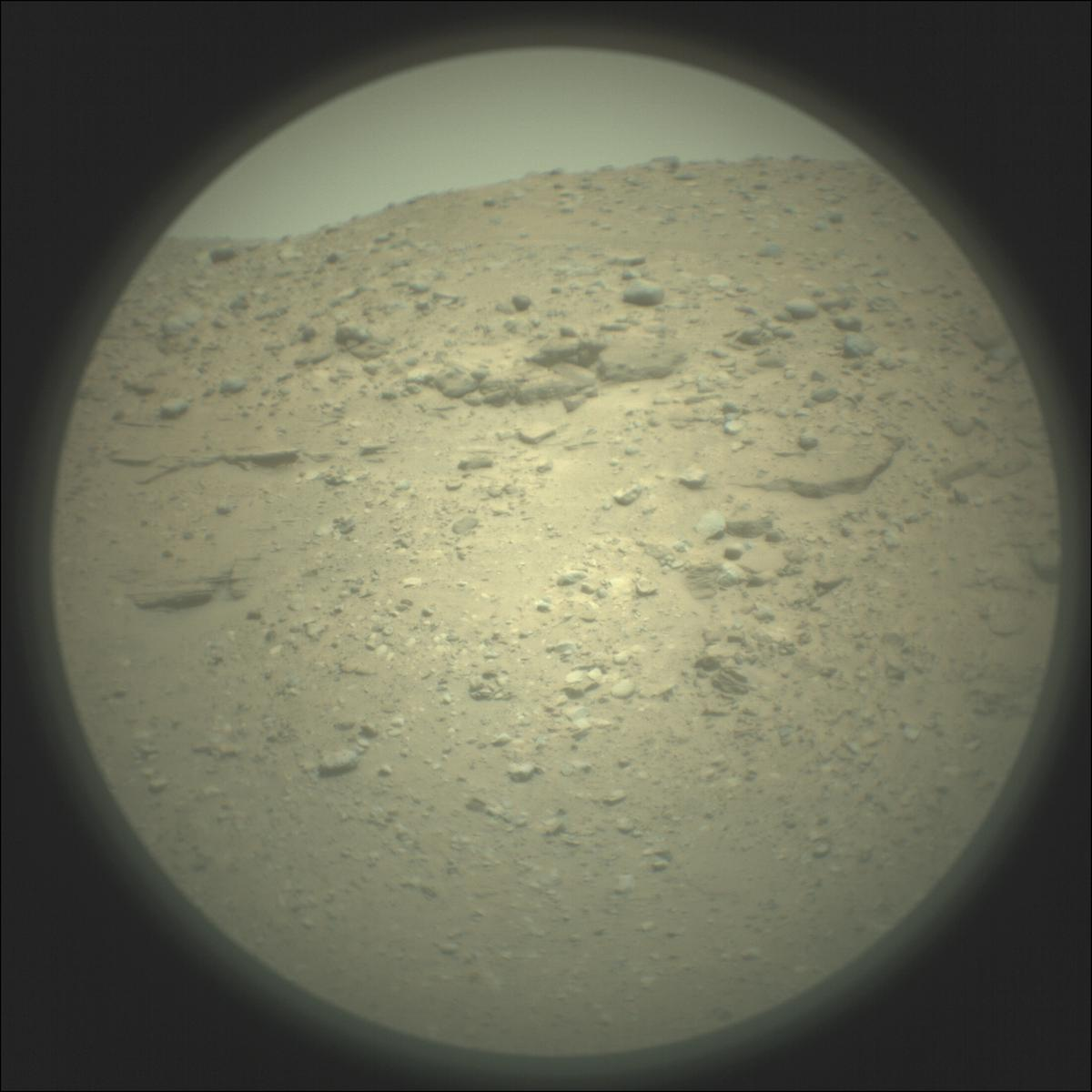 This image was taken by SUPERCAM_RMI onboard NASA's Mars rover Perseverance on Sol 26
