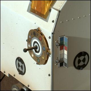 View image taken on Mars, Mars Perseverance Sol 26: WATSON Camera