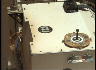 View image taken on Mars, Mars Perseverance Sol 26: Left Mastcam-Z Camera