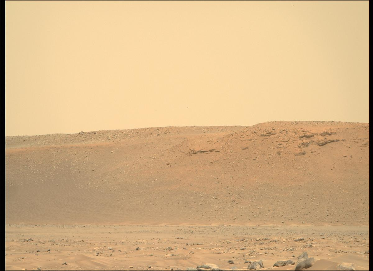 This image was taken by MCZ_RIGHT onboard NASA's Mars rover Perseverance on Sol 26