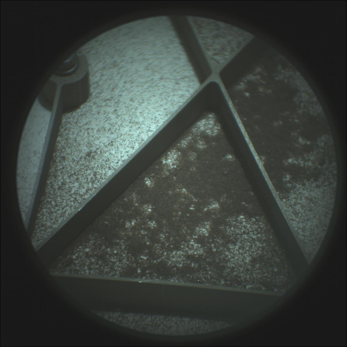 This image was taken by SUPERCAM_RMI onboard NASA's Mars rover Perseverance on Sol 30