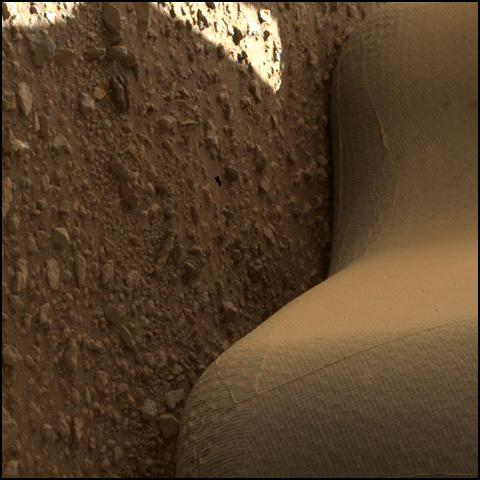 This image was taken by SHERLOC_WATSON onboard NASA's Mars rover Perseverance on Sol 30