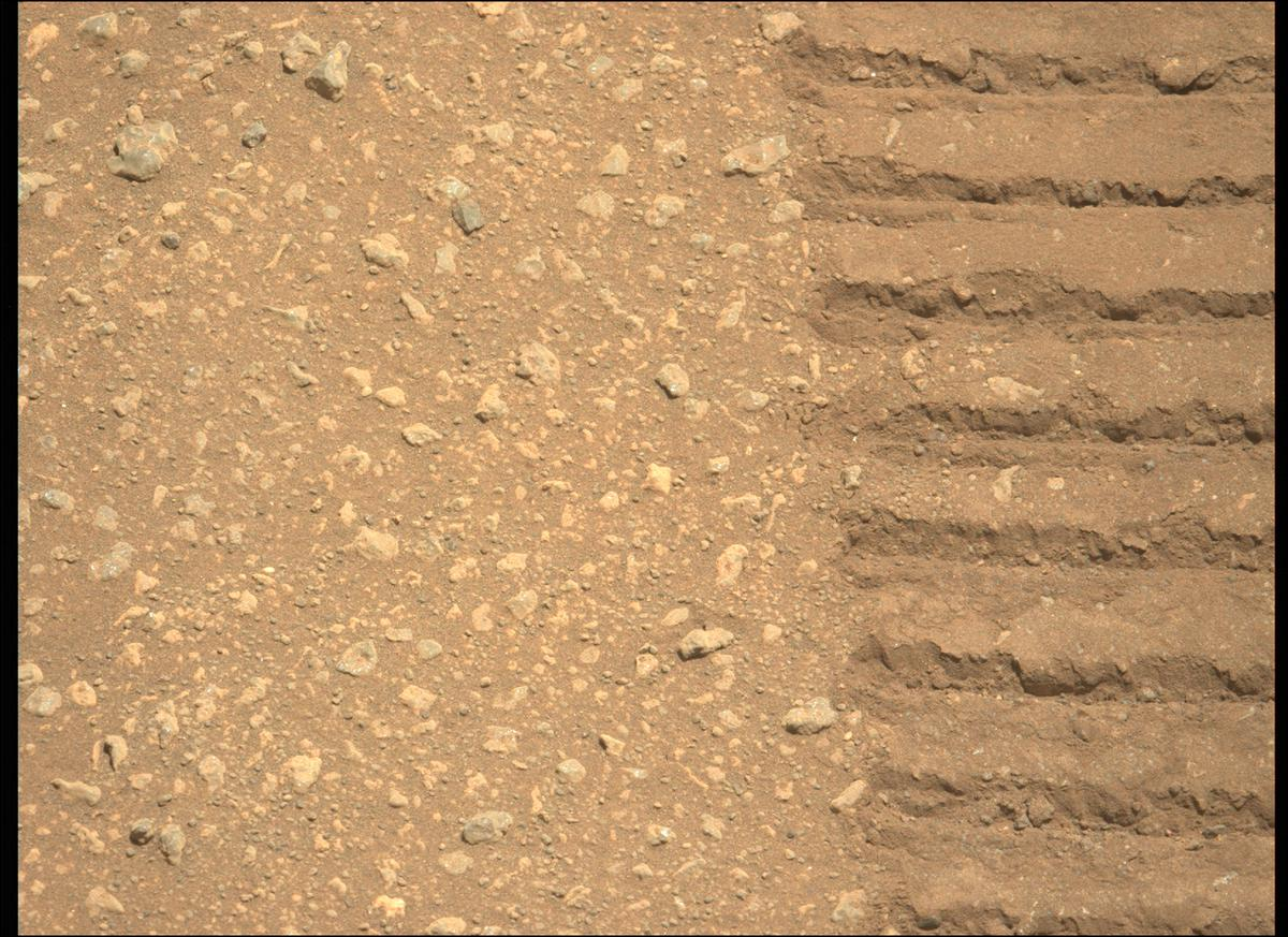 This image was taken by MCZ_LEFT onboard NASA's Mars rover Perseverance on Sol 30