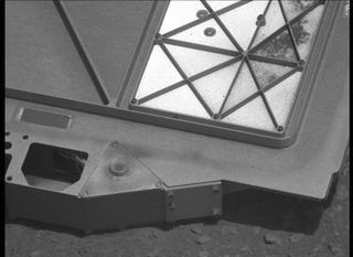 View image taken on Mars, Mars Perseverance Sol 30: Right Mastcam-Z Camera