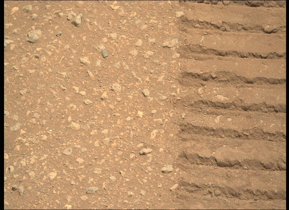 This image was taken by MCZ_RIGHT onboard NASA's Mars rover Perseverance on Sol 30