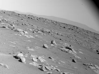 View image taken on Mars, Mars Perseverance Sol 31: Right Navigation Camera (Navcam)