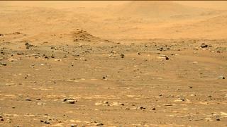 View image taken on Mars, Mars Perseverance Sol 31: Left Mastcam-Z Camera