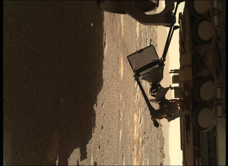Mars Perseverance Sol 37: WATSON Camera