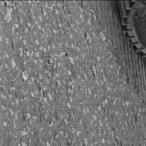 This image was taken by SHERLOC_WATSON onboard NASA's Mars rover Perseverance on Sol 39