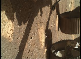 View image taken on Mars, Mars Perseverance Sol 39: WATSON Camera
